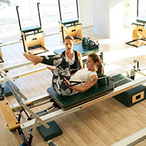 How To Do Reformer Pilates With Sun & Sand Sports