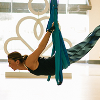 How To Do Aerial Yoga With Sun & Sand Sports