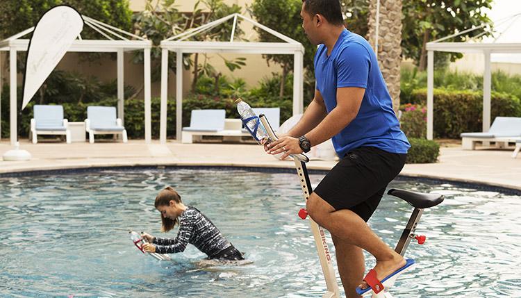 aqua spin training