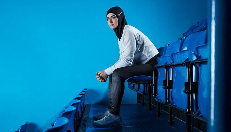 Nike Hijab Pro athlete