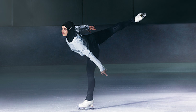 Nike Hijab Pro Zahra Lari