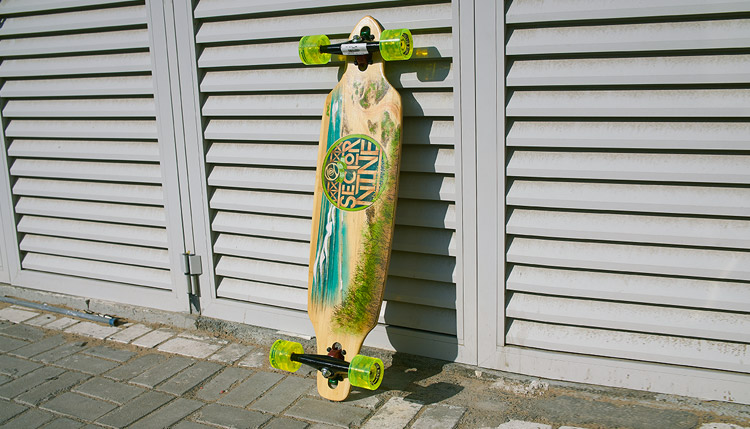 Surf The Sidewalk With A Sector 9 Longboard