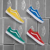 Keep It Colourful With Vans Old Skool