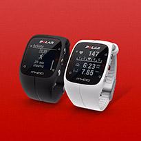أهدافك الرياضية واضحة مع ساعة إم400 إتش آر من بولار