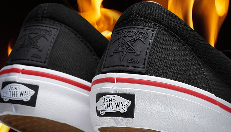Vans X Thrasher Collection