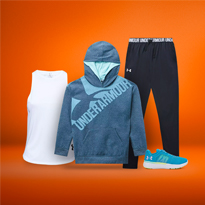 Train Right With Kids' Under Armour Apparel At SSS