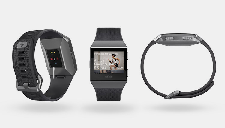 SAY HELLO TO THE FITBIT IONIC WATCH