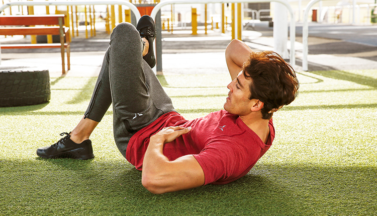 how to do side crunches