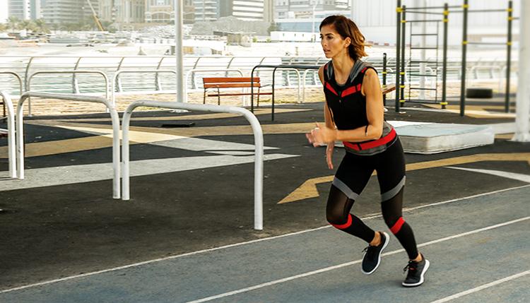 تمرين الجري السريع للنساء