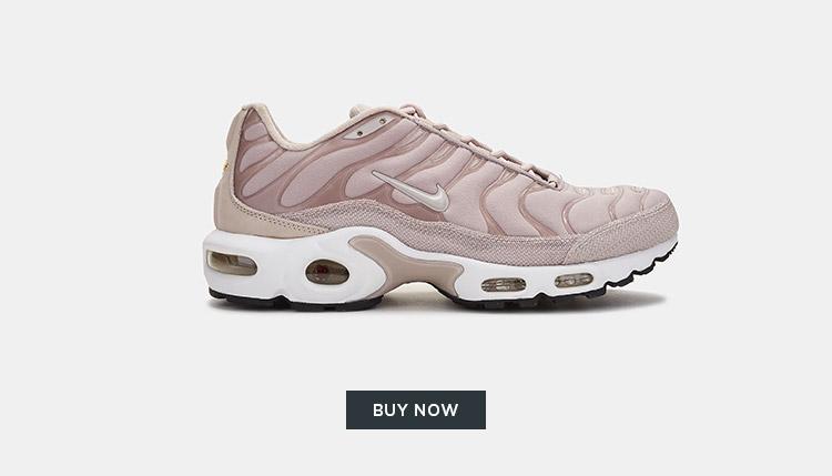 Nike Air Max Plus Premium TN Shoe Women - Pink - English