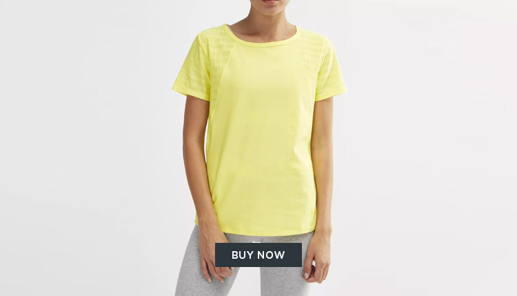 women's Under Armour training t-shirt