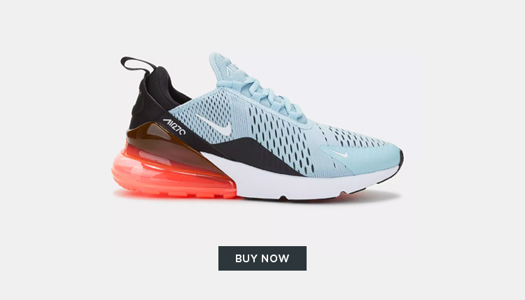 Nike Air Max 270 Pink Blue Black English