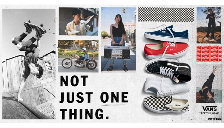 Vans Not Just One Thing