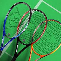 Tennis Talk: Dunlop Rackets