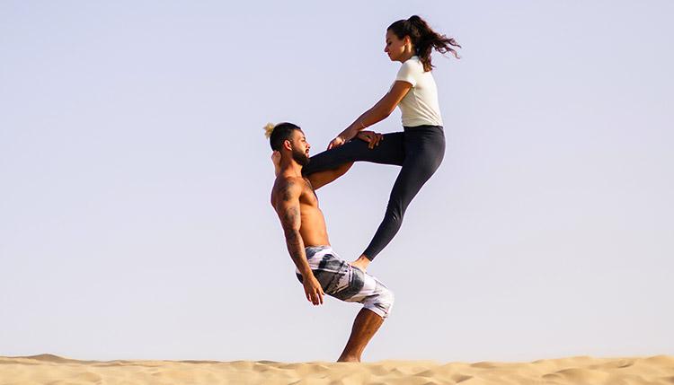 Yoga Pose UAE