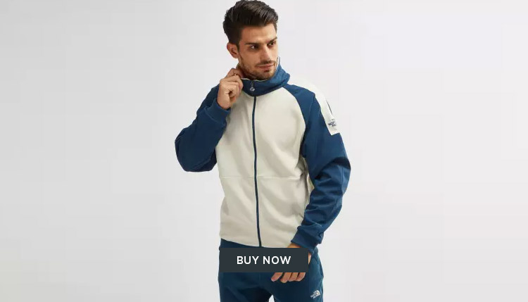 Retro colour block jacket DUBAI
