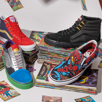 The Vans X Marvel Collection Has Landed