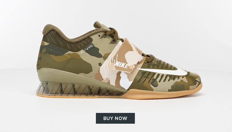 Nike camouflage Romaleos