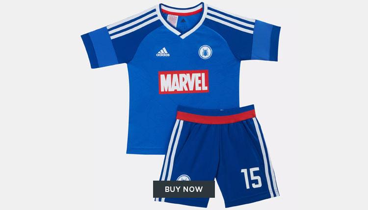 adidas Marvel football kit UAE