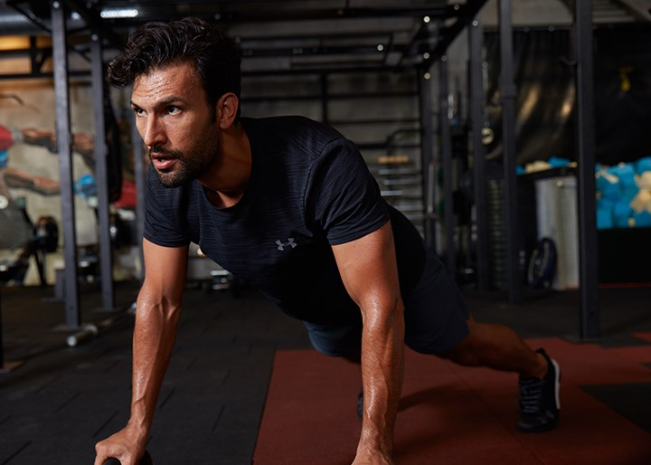 UNDER ARMOUR IN-GYM COLLECTION, Dubai, UAE