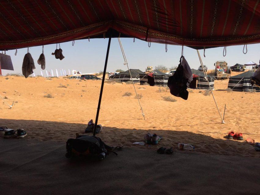 oman desert marathon camp