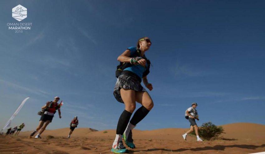 oman desert marathon dunes