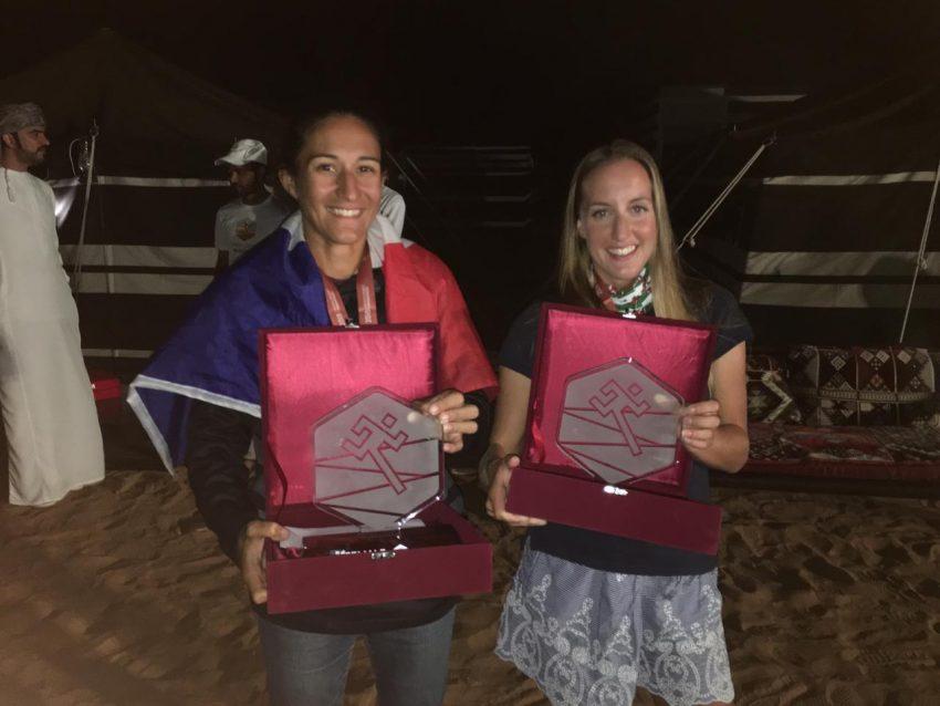 second and third female oman desert marathon 2018