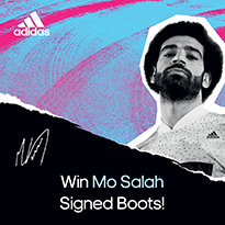 Win Yourself A Pair Of Signed Mo Salah Boots!