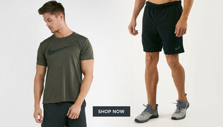 Nike Men's Training Shorts and Shirt