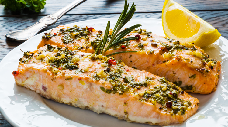 Baked Salmon - Healthy Iftar Recipes for This Ramadan