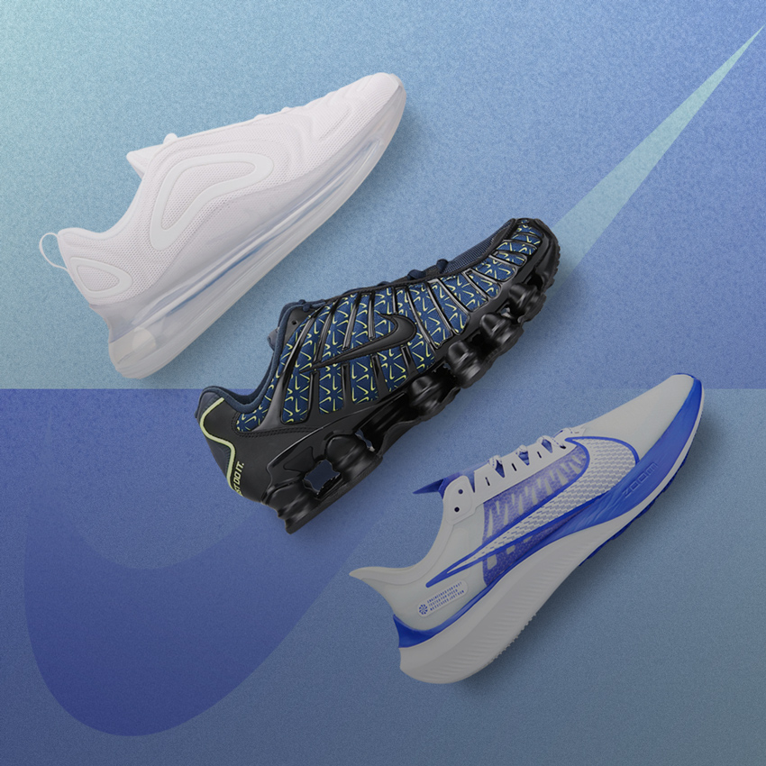 NIKE AIR MAX, NIKE ZOOM AIR, NIKE SHOX – A CLOSER LOOK Riyadh, Jeddah, KSA