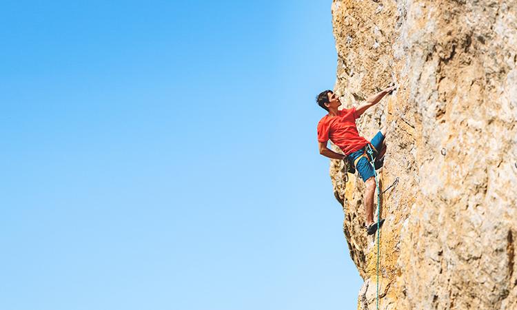 Rock Climbing in Al Sharaf, NEOM, Olympic