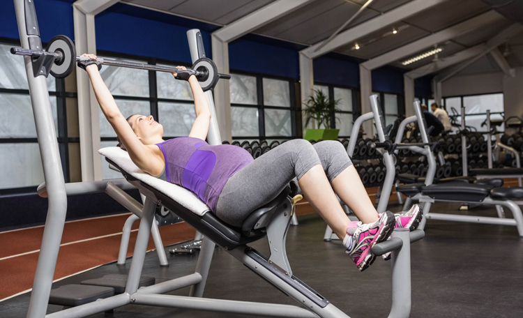 Weight training strengthens the body