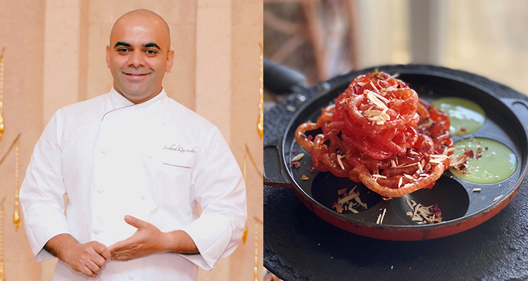 Instant Roohafza Jalebi by Chef Irshad Qureshi